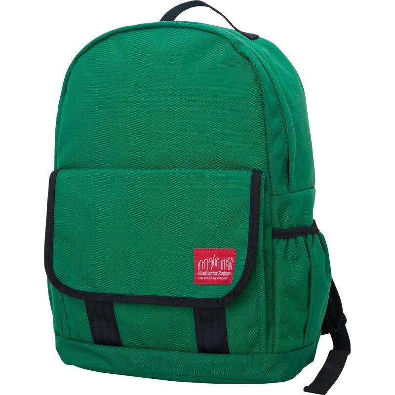 マンハッタンポーテージ メンズ バックパック・リュックサック バッグ Washington Heights Backpack Green