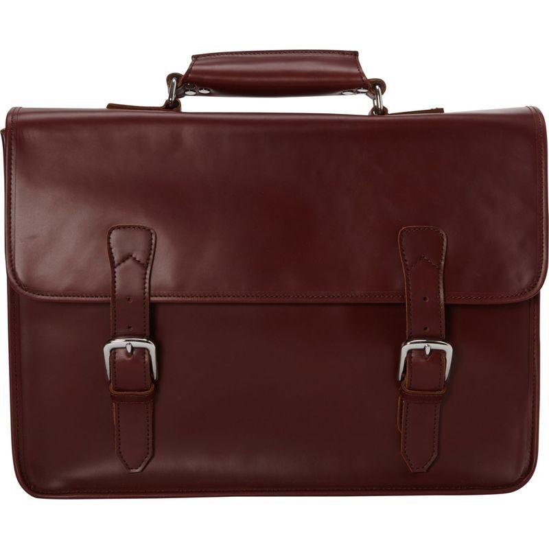 ヴァガボンドトラベラー メンズ スーツケース バッグ Extra Large Leather Laptop Bag Wine Red