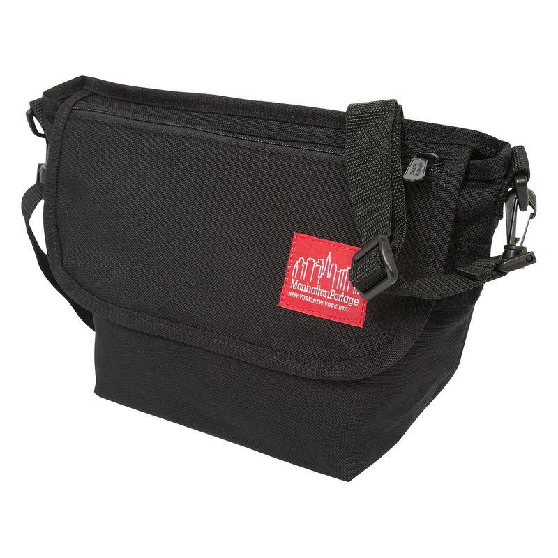 マンハッタンポーテージ メンズ ショルダーバッグ バッグ College Place Handle Bar Bag Black