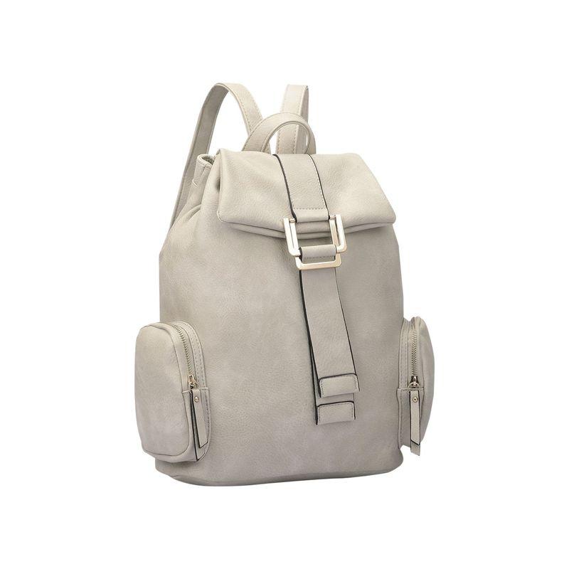 ダセイン メンズ バックパック・リュックサック バッグ Drawstring Accent Backpack with Side Pockets Light Gray