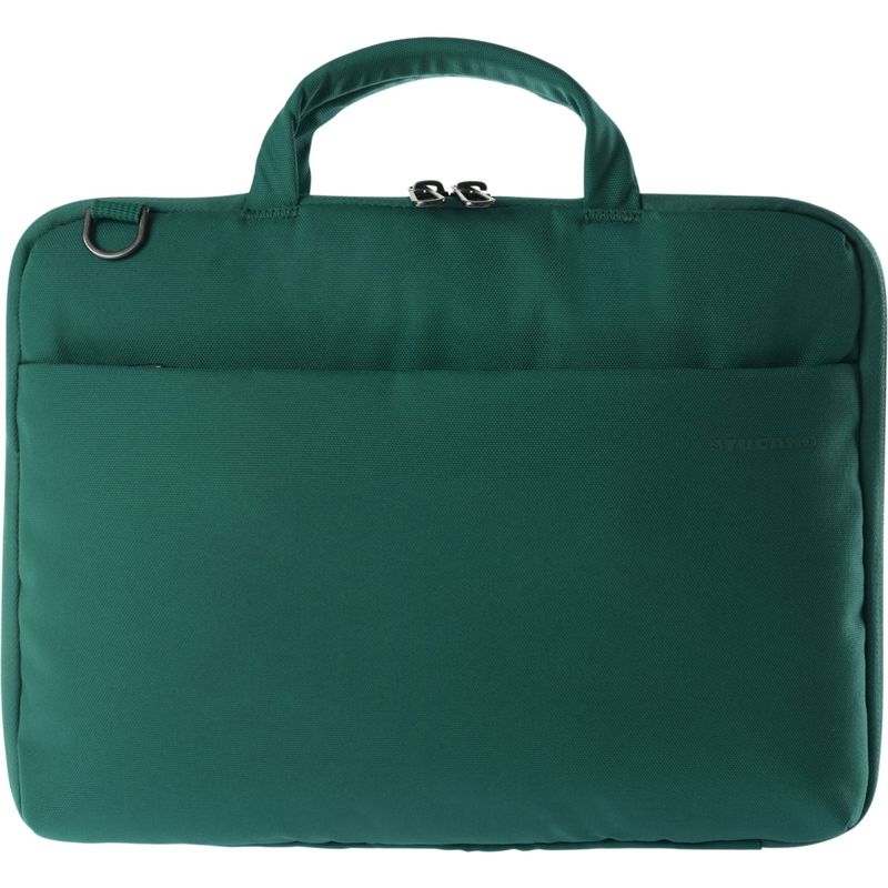 ツカーノ メンズ スーツケース バッグ Darkolor 14 Laptop Slim Bag Green