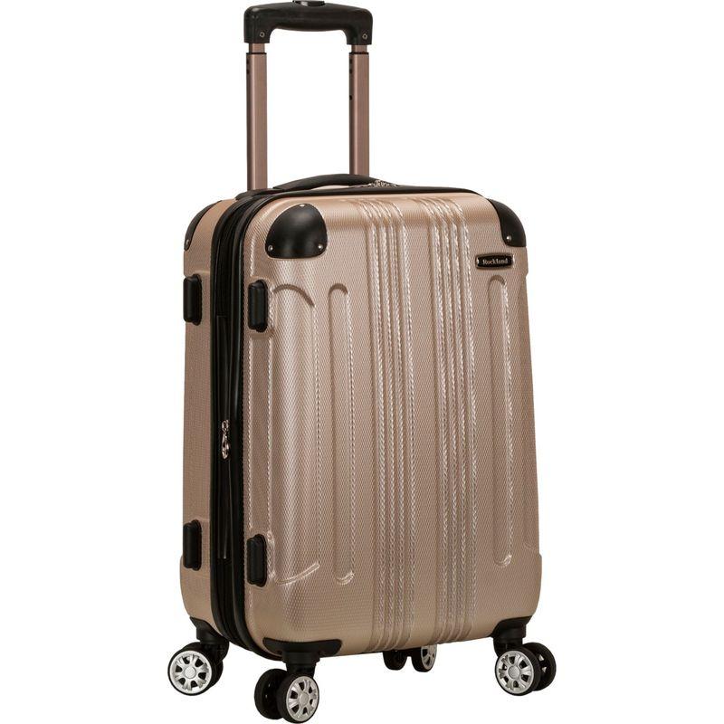 ロックランド メンズ スーツケース バッグ Sonic 20 Hardside Spinner Carry-On Champagne