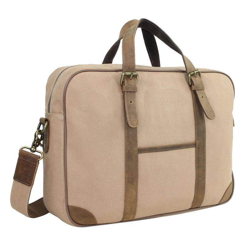 ヴァガボンドトラベラー メンズ スーツケース バッグ 16 Casual Laptop Messenger Bag Khaki