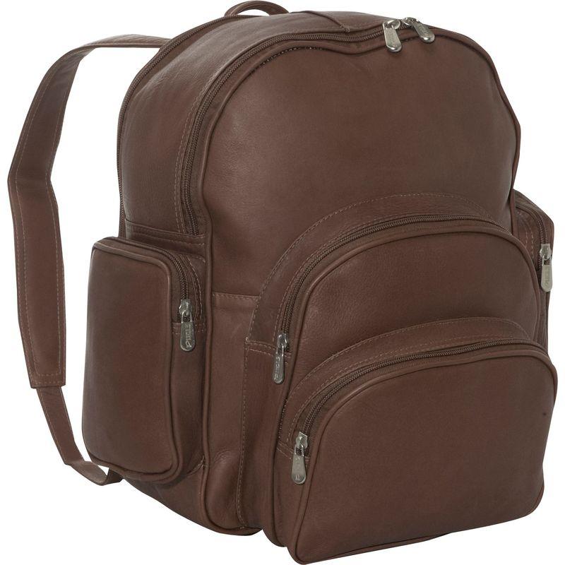 ピエール メンズ バックパック・リュックサック バッグ Expandable Backpack Chocolate