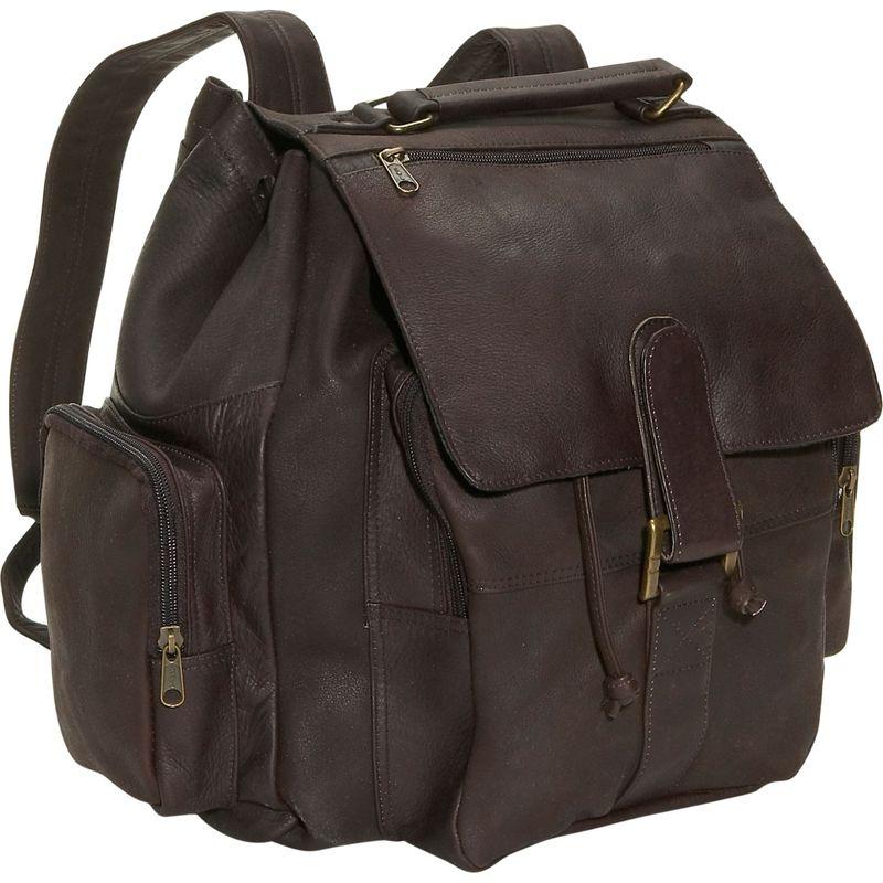 デビッドキング メンズ バックパック・リュックサック バッグ Top Handle Backpack Cafe