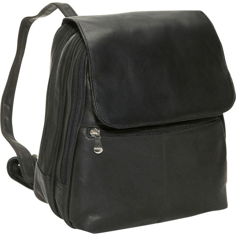 デビッドキング レディース バックパック・リュックサック バッグ Women's Organizer Backpack Black