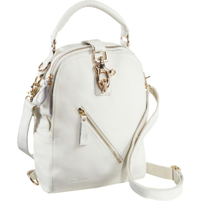 アメリ メンズ バックパック・リュックサック バッグ Quince Leather Handbag / Backpack Off White