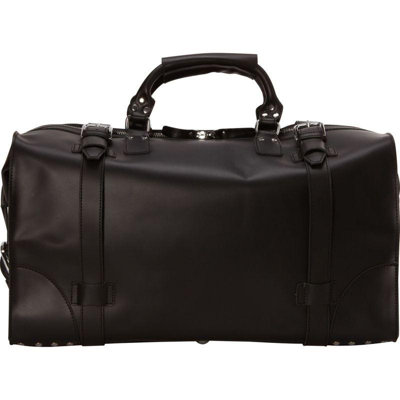 ヴァガボンドトラベラー メンズ スーツケース バッグ 21 Cowhide Full Leather Travel Duffle Bag Black