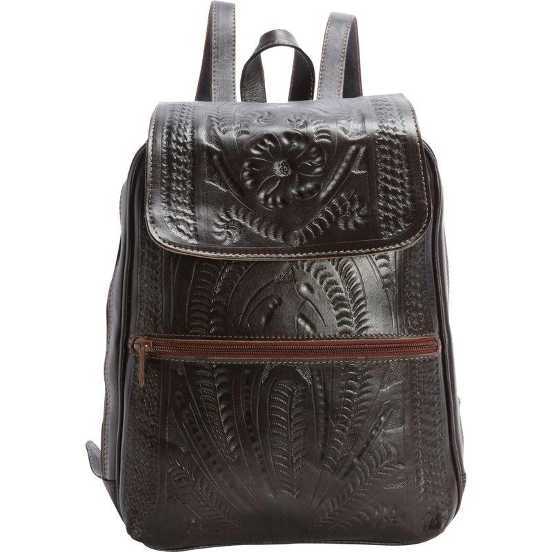 ロピンウェスト メンズ バックパック・リュックサック バッグ Backpack Purse Brown