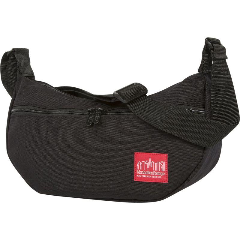 マンハッタンポーテージ メンズ ショルダーバッグ バッグ Crescent Street Shoulder Bag Black