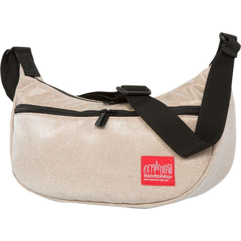 マンハッタンポーテージ メンズ ショルダーバッグ バッグ Midnight Crescent Street Shoulder Bag Champange