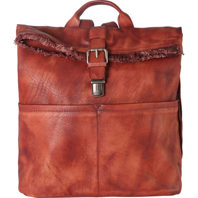 ディオフィ メンズ バックパック・リュックサック バッグ Archaize Fringe Backpack Red