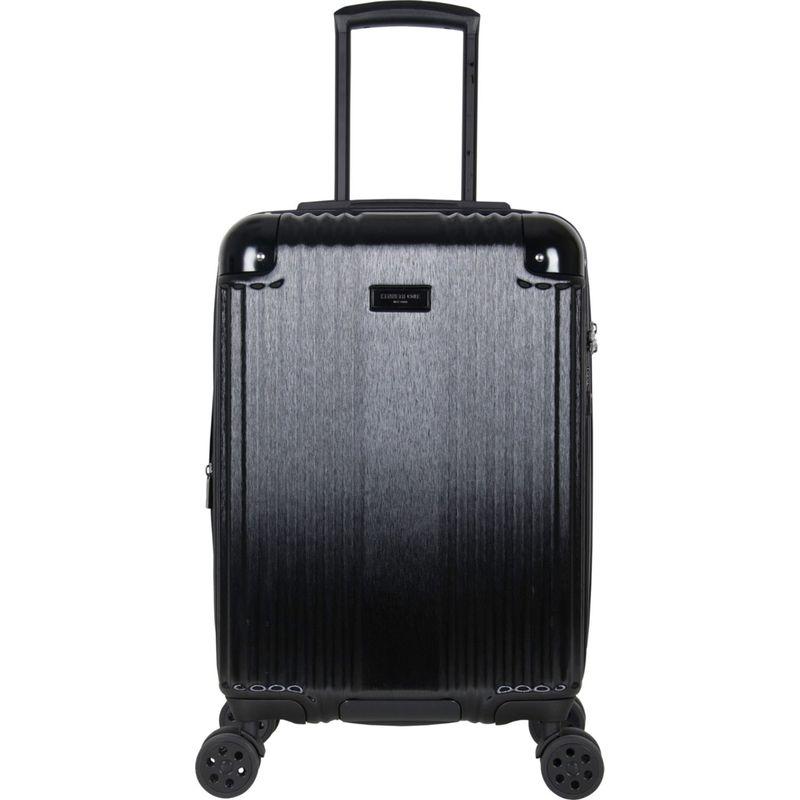 ケネスコール メンズ スーツケース バッグ Tribeca Travelier 20 Lightweight Expandable Carry-On Spinner with TSA Lock Midnight Black