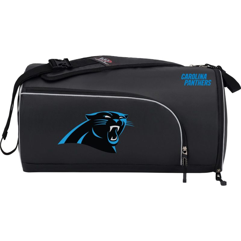 NFL メンズ ボストンバッグ バッグ Squadron Duffel Panthers