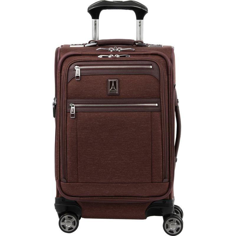 トラベルプロ メンズ スーツケース バッグ Platinum Elite 20 Expandable Business Plus Carry-On Spinner Bordeaux