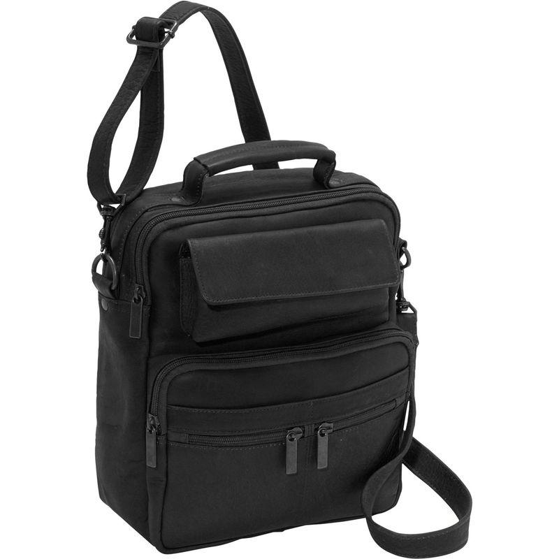 デビッドキング メンズ ショルダーバッグ バッグ Large Men's Bag Black