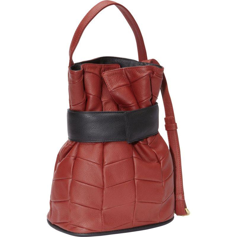 ジェイピーオースアンドシー メンズ ショルダーバッグ バッグ Madison Patchwork Berry Red/Black