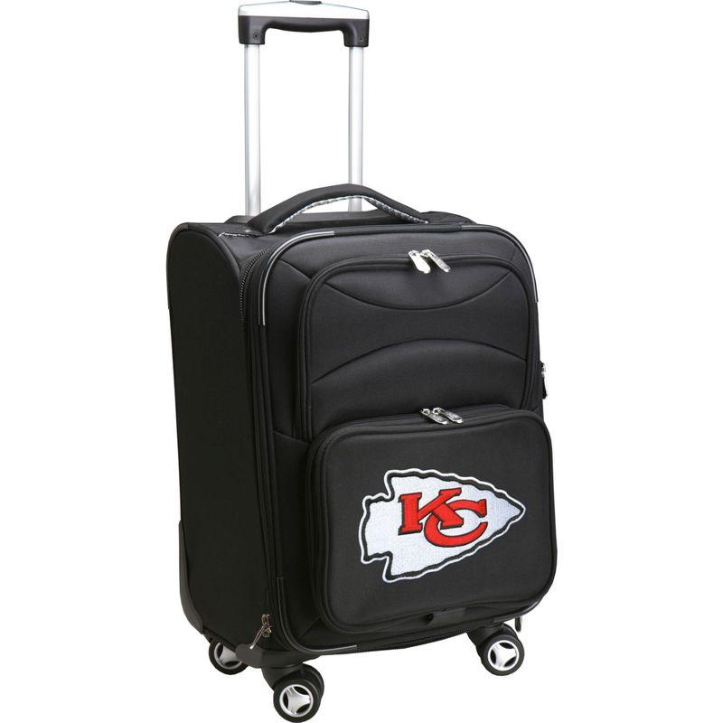 デンコスポーツ メンズ スーツケース バッグ NFL 20 Domestic Carry-On Spinner Kansas City Chiefs