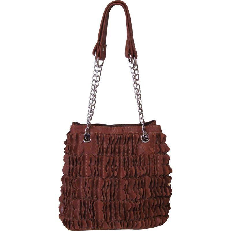 アメリ メンズ ショルダーバッグ バッグ Papiillon Leather Shoulder Bag Brown