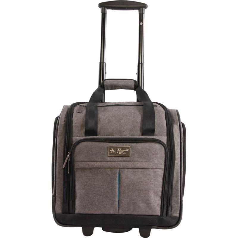 オリジナルペンギン メンズ スーツケース バッグ Ethan 16.5 Wheeled Under The Seat Carry On Bag Grey/Crosshatch