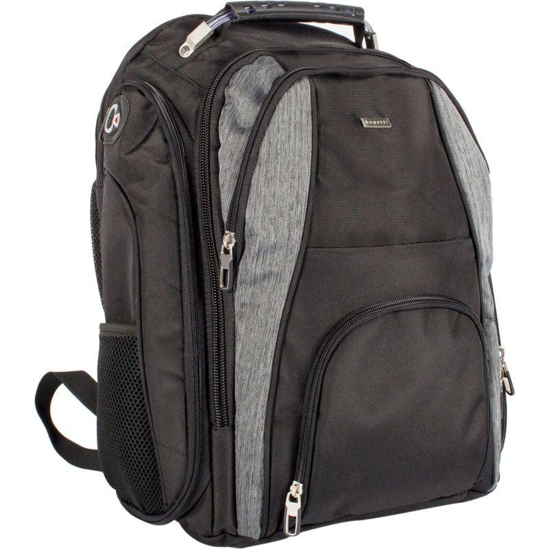 ブガッティ メンズ スーツケース バッグ Matt Business Backpack Black/Grey
