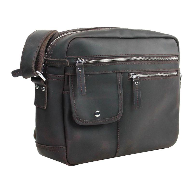 ヴァガボンドトラベラー メンズ スーツケース バッグ Messenger Bag Dark Brown