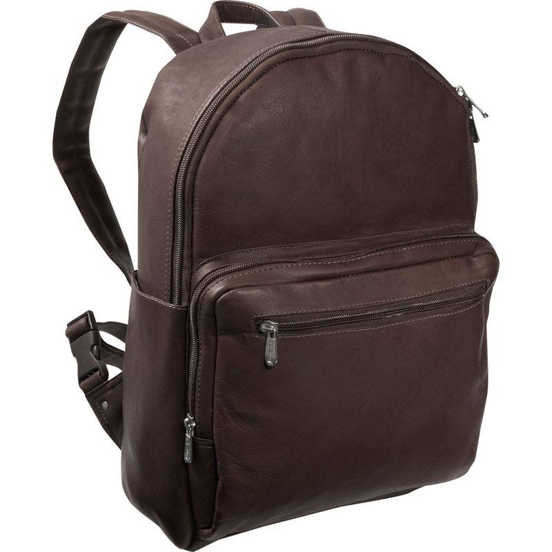 ピエール メンズ バックパック・リュックサック バッグ Traditional Backpack Chocolate