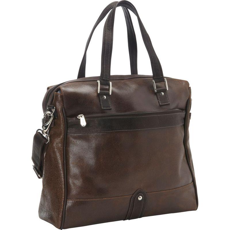 ピエール メンズ スーツケース バッグ Vintage Leather Travel Tote Vintage Brown