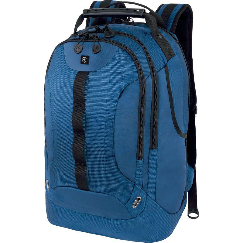 ビクトリノックス メンズ バックパック・リュックサック バッグ VX Sport Trooper Laptop Backpack Blue/Black Logo