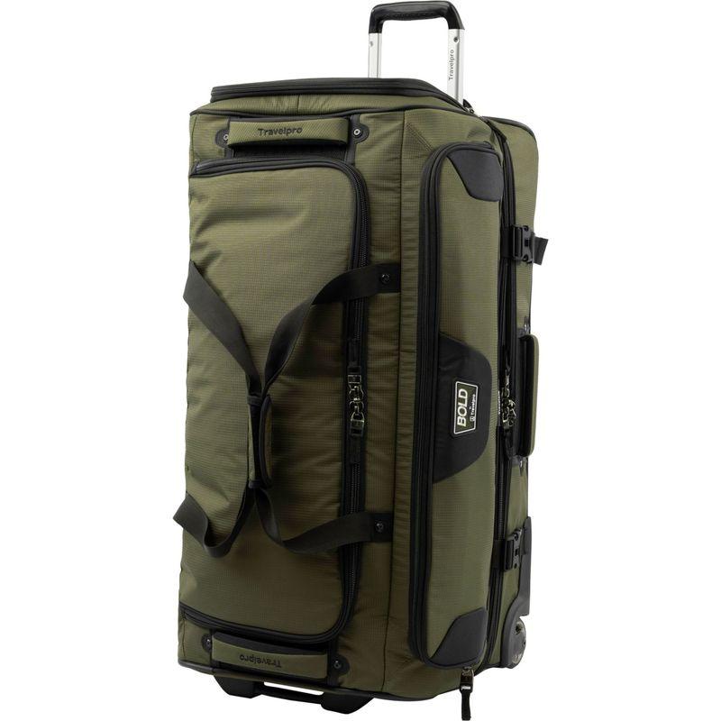 トラベルプロ メンズ スーツケース バッグ T-Pro Bold 2.0 30 Rolling Duffle Olive