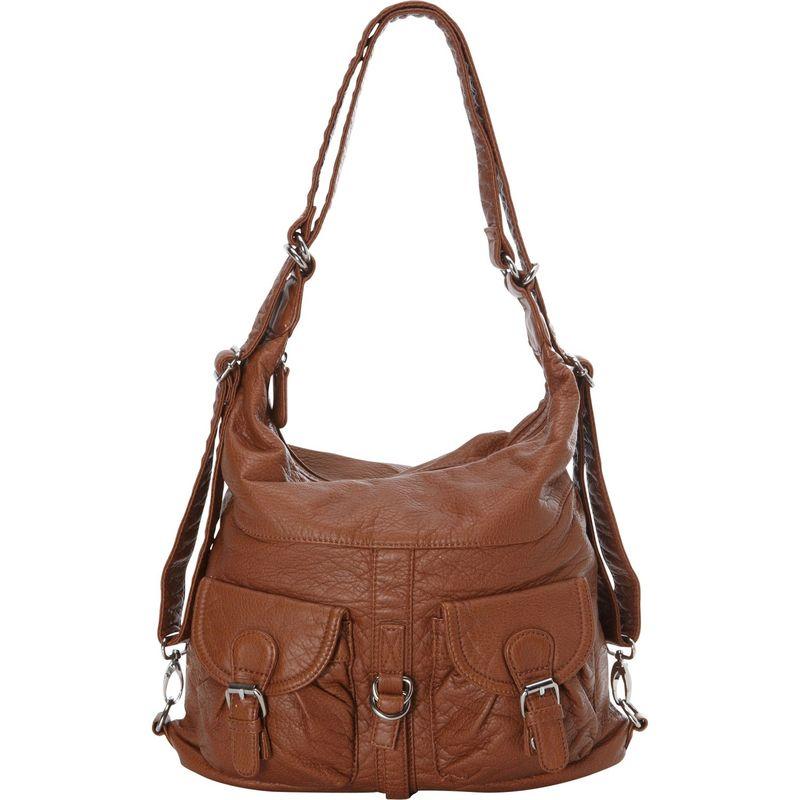 アンペレクリアーション メンズ バックパック・リュックサック バッグ Janey Jane Convertible Crossbody Backpack Brown