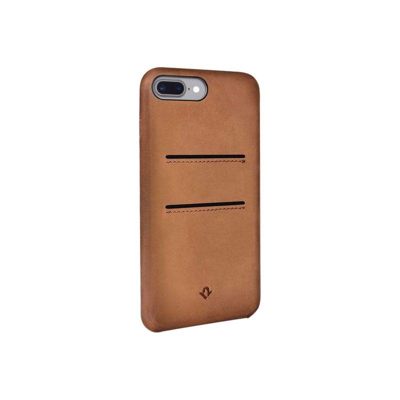 トゥエルブサウス メンズ PC・モバイルギア アクセサリー Relaxed Leather Case with Pockets for iPhone 7 Plus Cornac