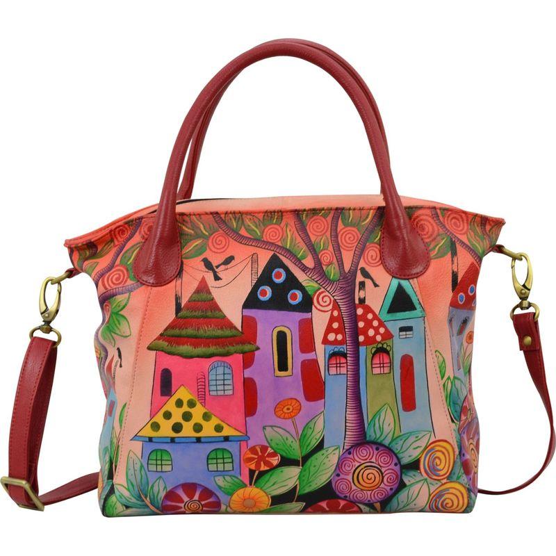 アンナバイアナシュカ メンズ トートバッグ バッグ Hand Painted Slouch Tote Bag Village Of Dreams