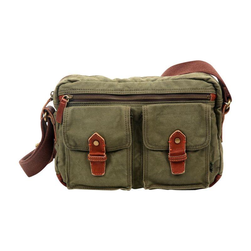 ティエスディー メンズ ショルダーバッグ バッグ Trail Breeze Mail Bag Olive