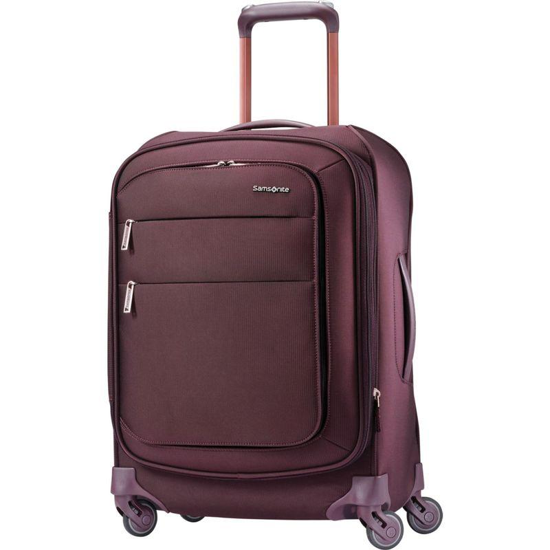 サムソナイト メンズ スーツケース バッグ Flexis 21 Expandable Spinner Carry-On w/USB Port Cordovan