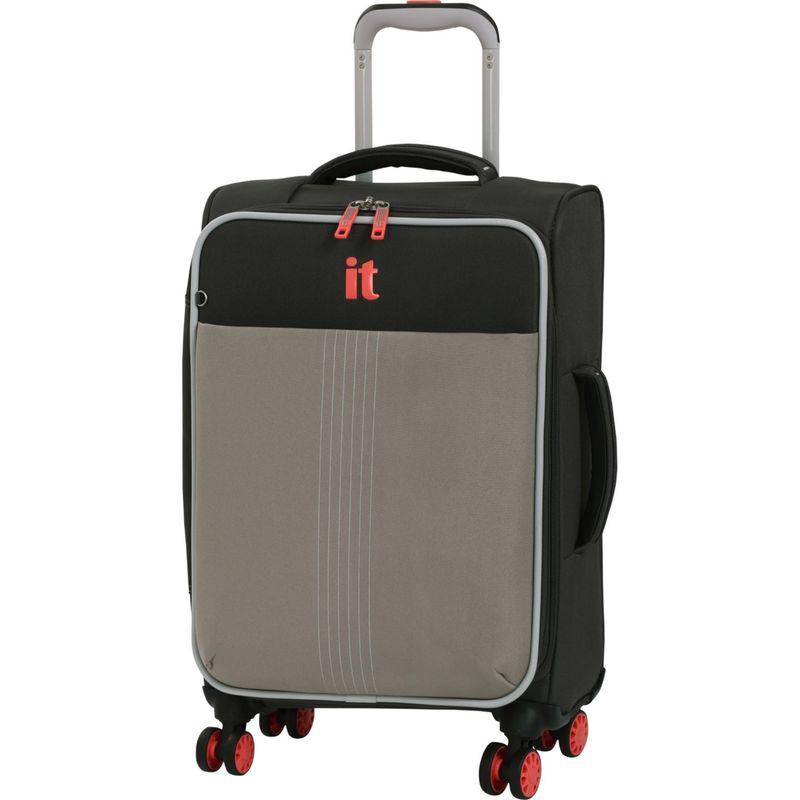 アイティー メンズ スーツケース バッグ Filament 21.5 Lightweight Expandable Carry-On Spinner Grey Rhapsody