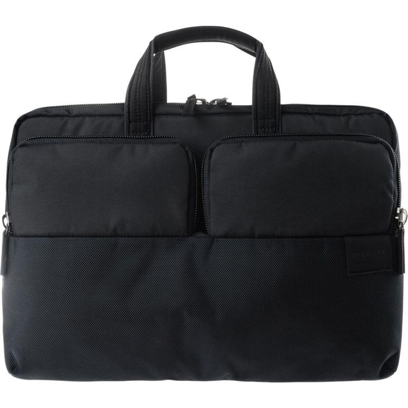 ツカーノ メンズ スーツケース バッグ Stilo 15.6 Laptop Business Bag Black