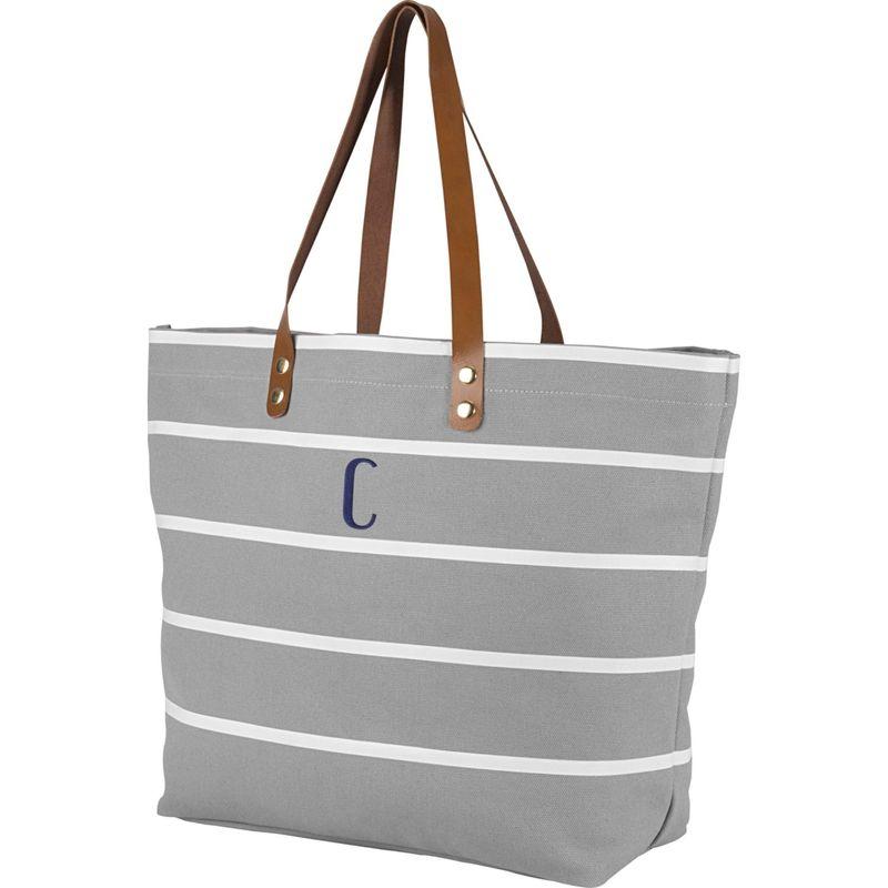 キャシーズ コンセプツ メンズ トートバッグ バッグ Monogram Tote Bag Grey - C