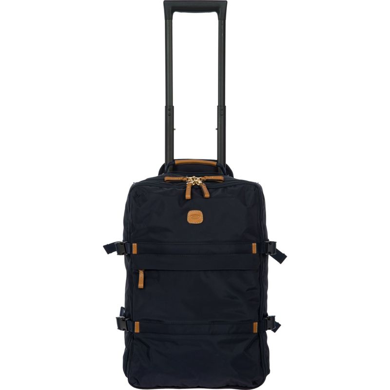 ブリックス メンズ スーツケース バッグ X-Travel Montagne 21 Lightweight Rolling Carry-On Navy