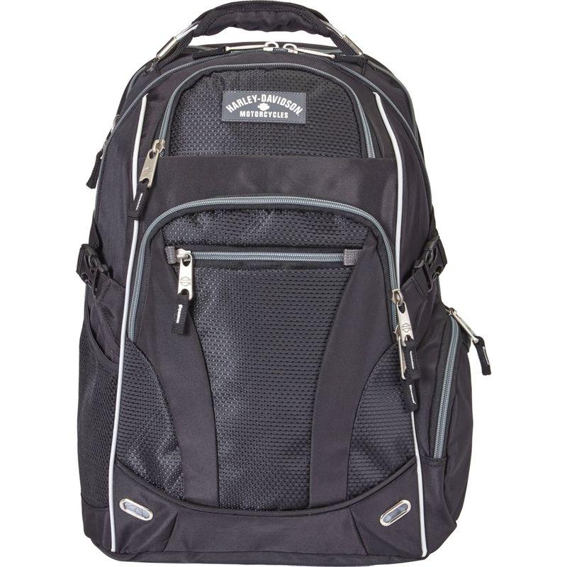 ハーレーダビッドソン メンズ バックパック・リュックサック バッグ Renegade Laptop Backpack Silver