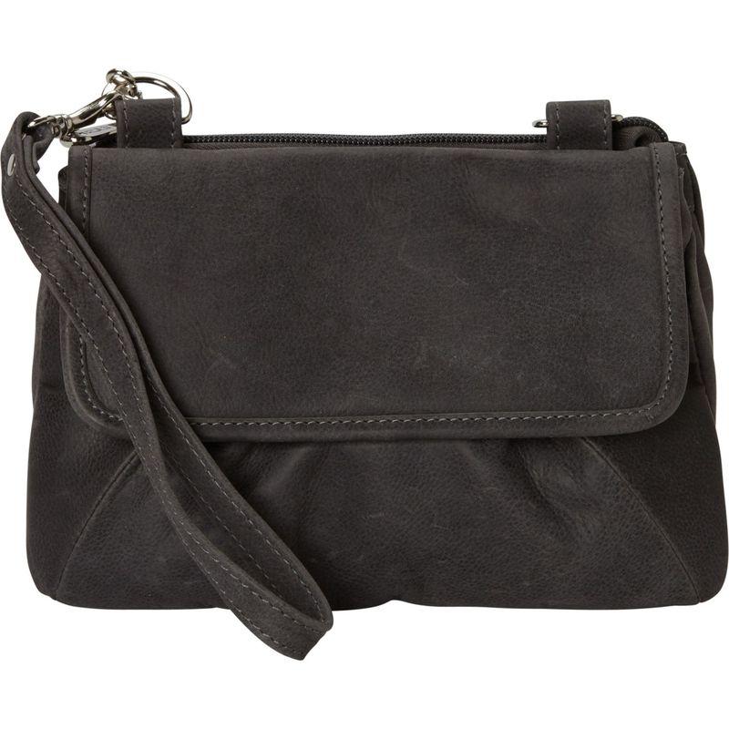 ピエール メンズ ボディバッグ・ウエストポーチ バッグ Rainbow Crossbody Bag/Clutch- eBags Exclusive Charcoal - eBags Exclusive