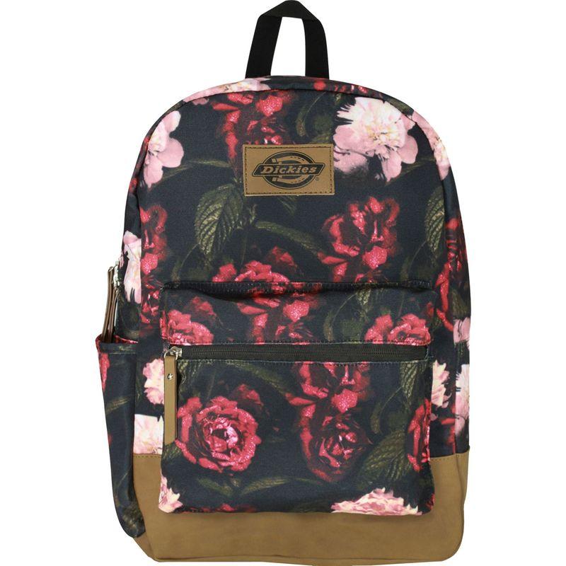 ディッキーズ メンズ バックパック・リュックサック バッグ Colton Poly Canvas Laptop Backpack Dark Floral