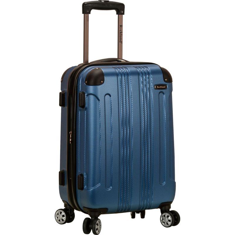 ロックランド メンズ スーツケース バッグ Sonic 20 Hardside Spinner Carry-On Blue