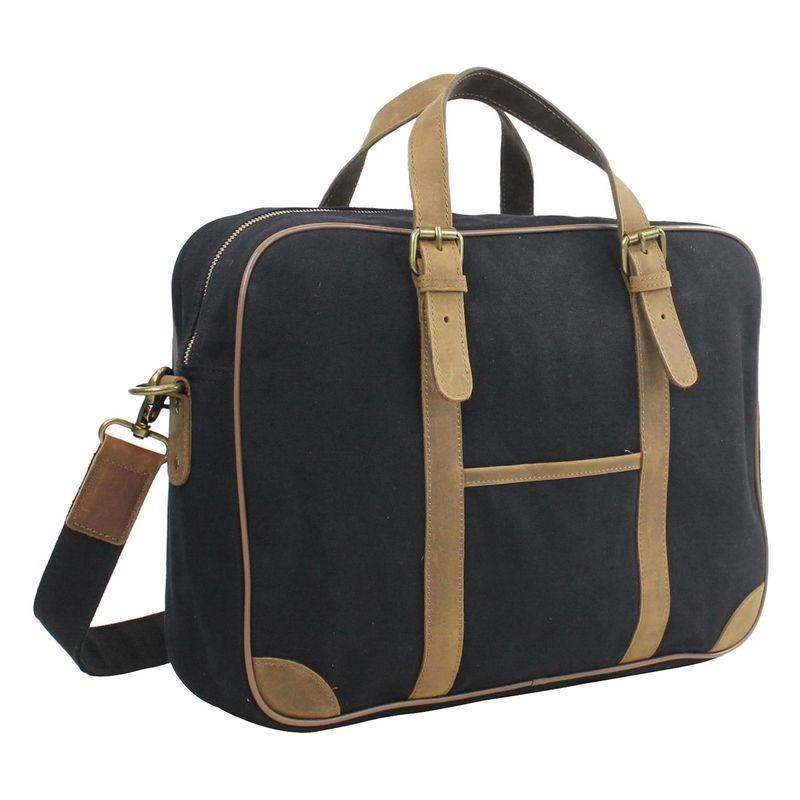 ヴァガボンドトラベラー メンズ スーツケース バッグ 16 Casual Laptop Messenger Bag Black