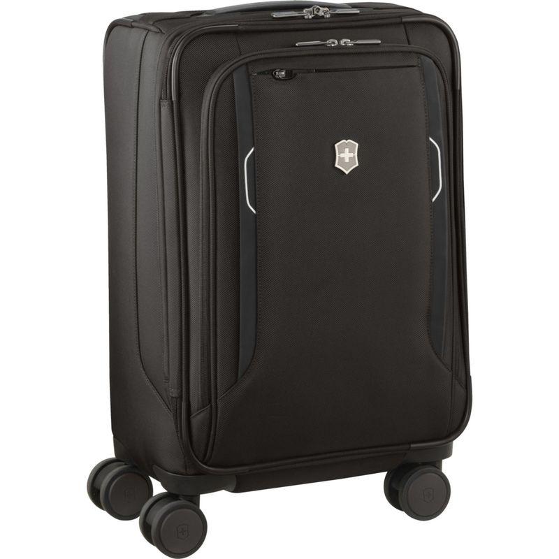 ビクトリノックス メンズ スーツケース バッグ Werks Traveler 6.0 Frequent Flyer Softside Carry-On Spinner Black
