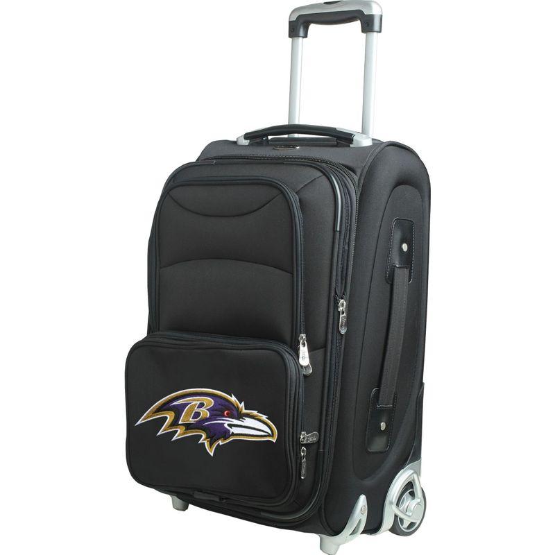 デンコスポーツ メンズ スーツケース バッグ NFL 21 Wheeled Upright Baltimore Ravens