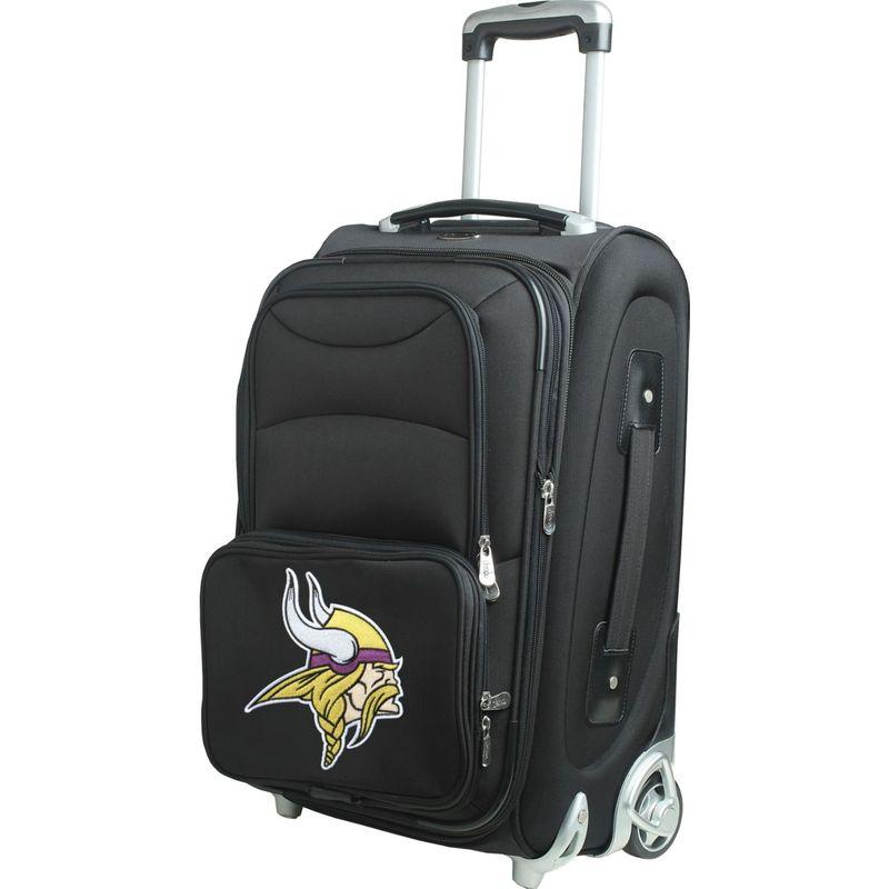 デンコスポーツ メンズ スーツケース バッグ NFL 21 Wheeled Upright Minnesota Vikings