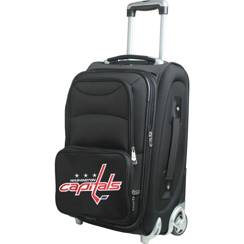 デンコスポーツ メンズ スーツケース バッグ NHL 21 Wheeled Upright Washington Capitals