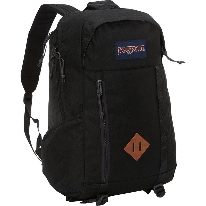 ジャンスポーツ メンズ バックパック・リュックサック バッグ Foxhole Laptop Backpack Black