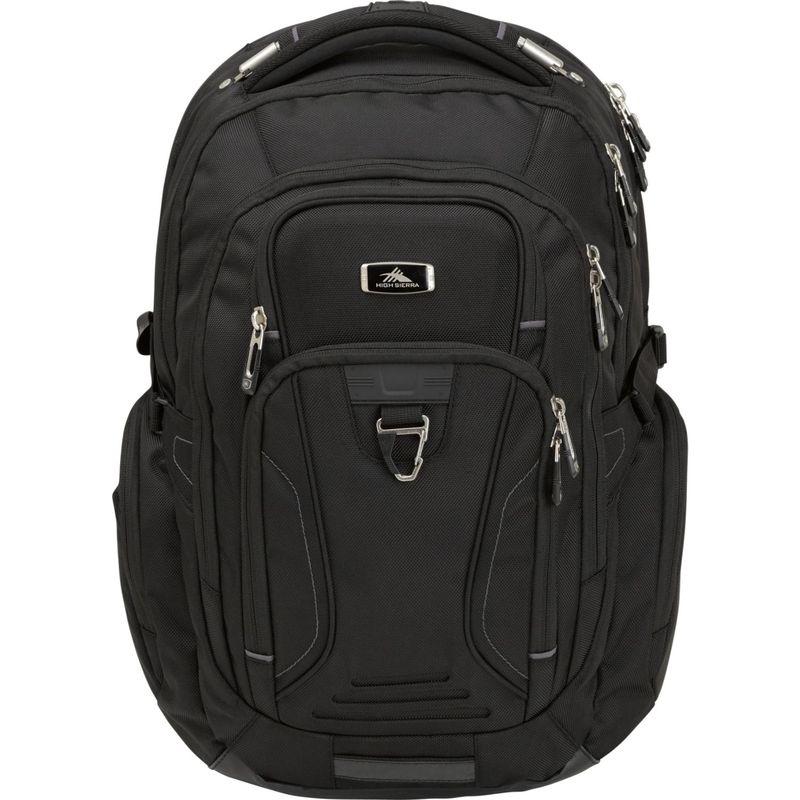 ハイシエラ メンズ スーツケース バッグ Endeavor TSA Elite Laptop Backpack Black